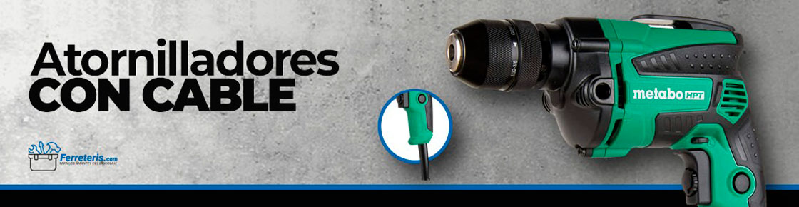 Mejores Atornilladores con Cable